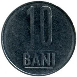 Moneda > 10bani, 2005-2017 - Rumanía  - reverse