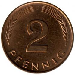 Münze > 2Pfennig, 1995 - Deutschland  - reverse