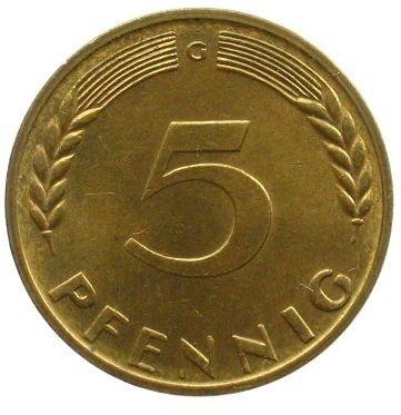 5 Pfennig 1966 Deutschland Münzen Wert Ucoinnet