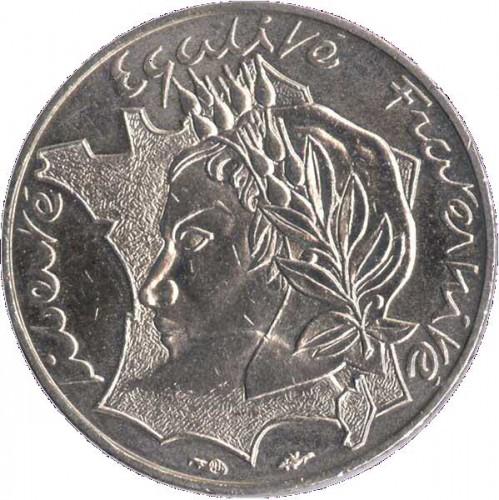 10 Franken 1986 Liberté Egalité Fraternité Frankreich Münzen