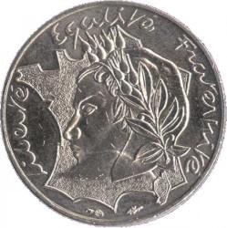 Moneda > 10francs, 1986 - França  (Llibertat Igualtat Fraternitat) - obverse