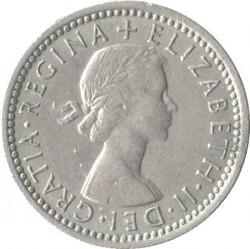 Νόμισμα > 6Πέννες, 1954-1970 - Ηνωμένο Βασίλειο  - obverse