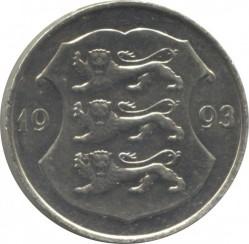 Minca > 1kroon, 1992-1995 - Estónsko  - obverse
