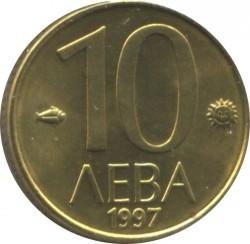 Кованица > 10лева, 1997 - Бугарска  - reverse