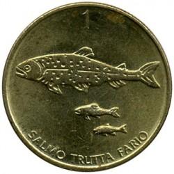 Moneda > 1tòlar, 1992-2006 - Eslovènia  - reverse