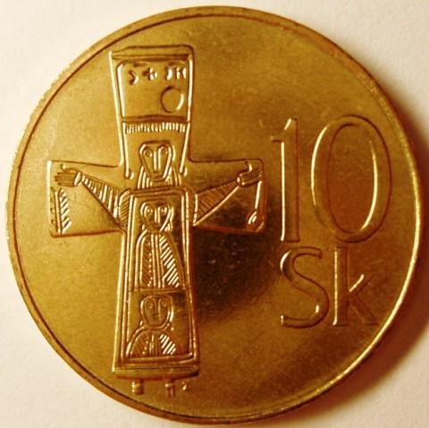 10 sk slovenska republika 1993 стоимость юбилейные монеты ссср олимпиада 80