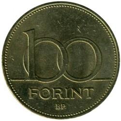 Moneta > 100fiorini, 1992-1997 - Ungheria  - reverse