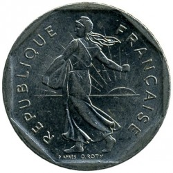 Coin > 2francs, 1979 - France  - reverse