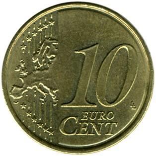 10 Eurocent 2008 2018 Portugal Münzen Wert Ucoinnet