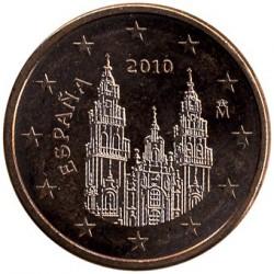 Монета > 5евроцентов, 2010 - Испания  - obverse