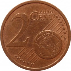 Mynt > 2eurocent, 2002-2019 - Tyskland  - obverse