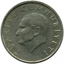 Moneda > 10.000liras, 1997-2001 - Turquía  - obverse