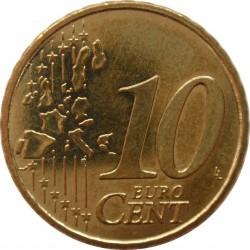 Νόμισμα > 10Σέντς, 2002-2006 - Γερμανία  - reverse
