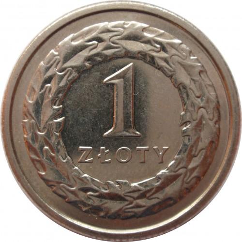 1 Złoty 1990 2016 Polen Münzen Wert Ucoinnet