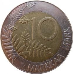 Moneta > 10markių, 1993-2001 - Suomija  - reverse