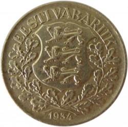 سکه > 1کرون, 1934 - استونی  - obverse