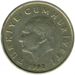 Moneta > 50.000lir, 1996-2000 - Turcja  - obverse