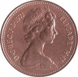 מטבע > 1פאניחדש, 1971-1981 - בריטניה  - obverse