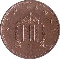 Münze > 1NewPenny, 1971-1981 - Vereinigtes Königreich   - reverse