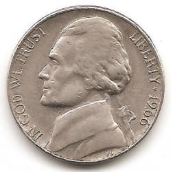 Moneta > 5centai, 1966 - JAV  (Džefersono 5 centų moneta) - obverse