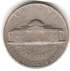 Moneta > 5centai, 1966 - JAV  (Džefersono 5 centų moneta) - reverse