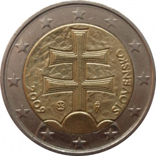 2 Euro 2009 2018 Slowakei Münzen Wert Ucoinnet