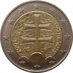 Moeda > 2euro, 2009-2018 - Eslováquia  - obverse