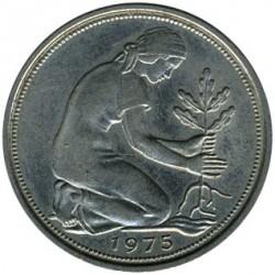 Coin > 50pfennig, 1975 - Germany  - obverse