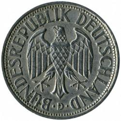 Монета > 1марка, 1950-2001 - Германия  - obverse