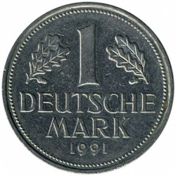 Münze > 1Mark, 1991 - Deutschland  - obverse