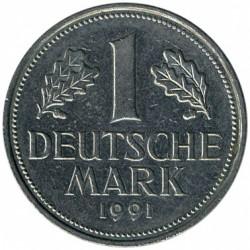 Münze > 1Mark, 1991 - Deutschland  - reverse
