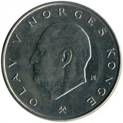 Mynt > 5kroner, 1974-1988 - Norge  - obverse