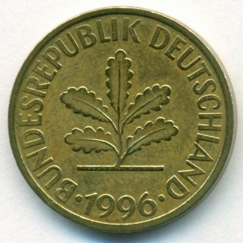 10 Pfennig 1950 2001 Allemagne Valeur Pièce Ucoinnet