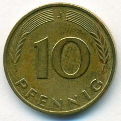 Moneda > 10peniques, 1950-2001 - Alemania  - reverse