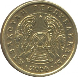 Монета > 2тенге, 2006 - Казахстан  - obverse
