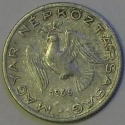 Монета > 10філерів, 1966 - Угорщина  - obverse