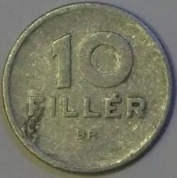 Монета > 10філерів, 1966 - Угорщина  - reverse
