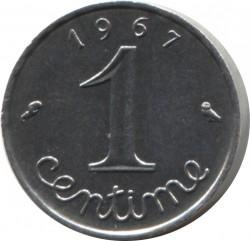 Pièce > 1centime, 1961-2001 - France  - reverse