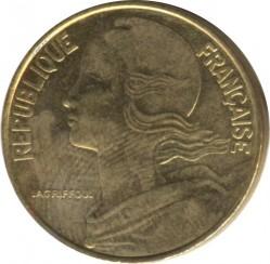 سکه > 20سنتیماس, 2000 - فرانسه  - obverse