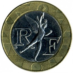 Coin > 10 francs, 2000 - France  - reverse