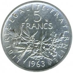 მონეტა > 5ფრანკი, 1959-1969 - საფრანგეთი  - reverse