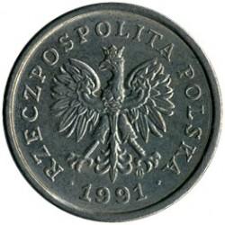 Coin > 10groszy, 1991 - Poland  - obverse