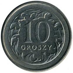 Coin > 10groszy, 1991 - Poland  - reverse