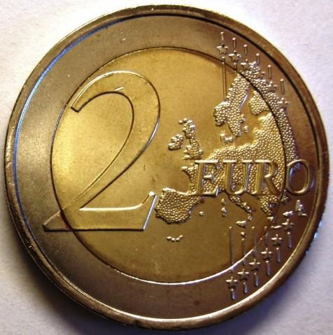 Portugal 2 euro 2010 UNC 100th anniversary of the Republic of Portugal