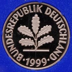 Münze > 2Pfennig, 1999 - Deutschland  - obverse