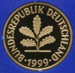 Münze > 5Pfennig, 1999 - Deutschland  - obverse