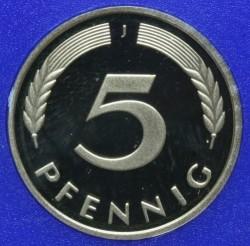 Münze > 5Pfennig, 1999 - Deutschland  - reverse