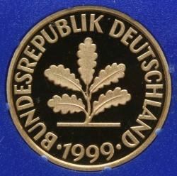 Münze > 10Pfennig, 1999 - Deutschland  - obverse