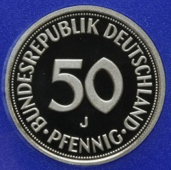 Münze > 50Pfennig, 1999 - Deutschland  - obverse