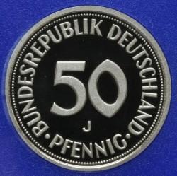 Münze > 50Pfennig, 1999 - Deutschland  - reverse